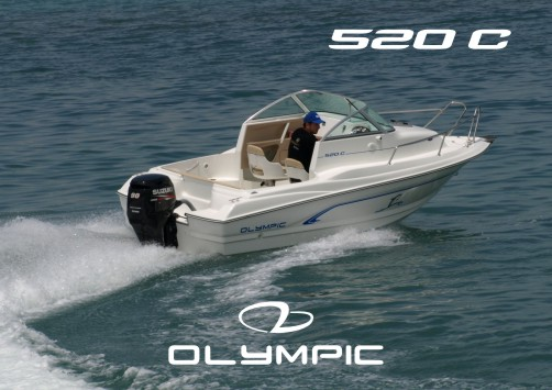 The new Olympic 520 C, featuring a spacious cabin and excellent quality!
